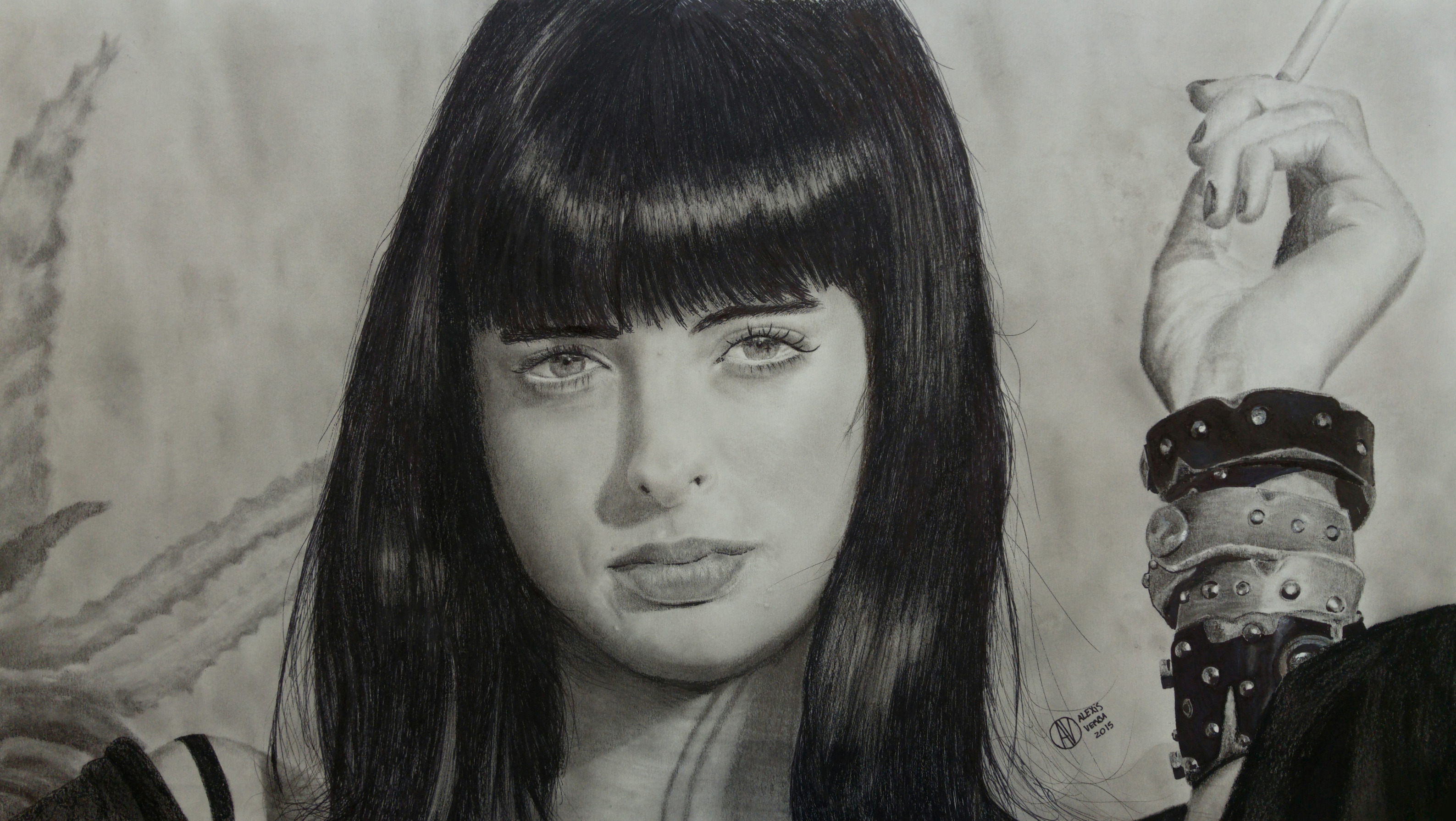 Dibujo realista? Breaking Bad - Jane Margolis