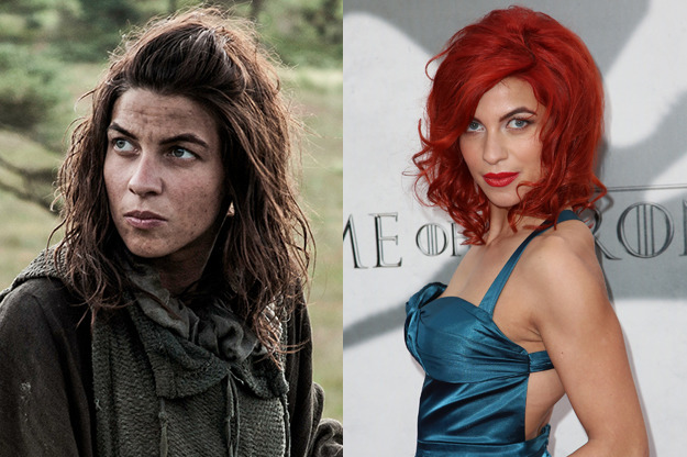As mulheres atrizes personagens mais belas de Game of Thrones