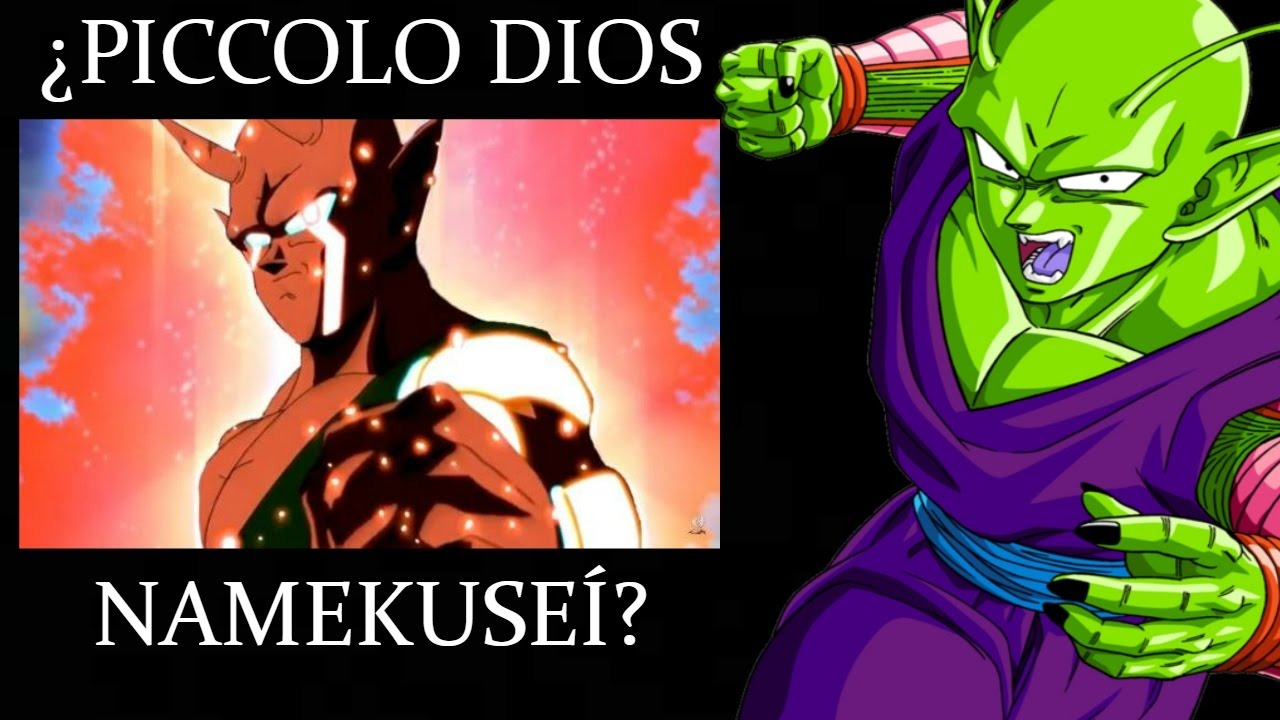 Piccolo Super Namekusei Dios / Dragon ball super /Analisis
