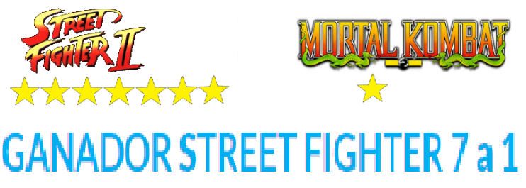 ¿Street Fighter es mejor que Mortal Kombat?