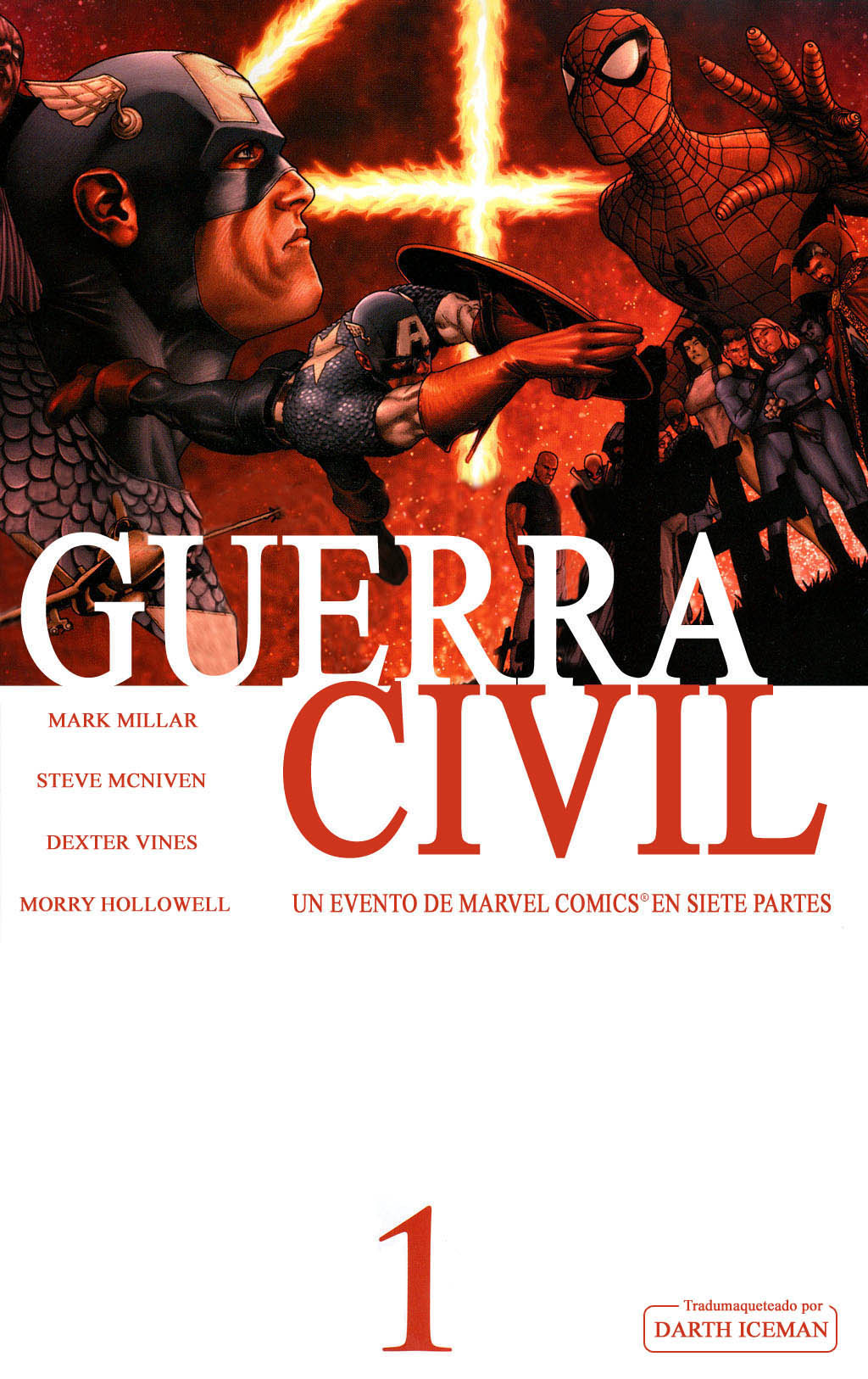 Civil war marvel ordenado 7