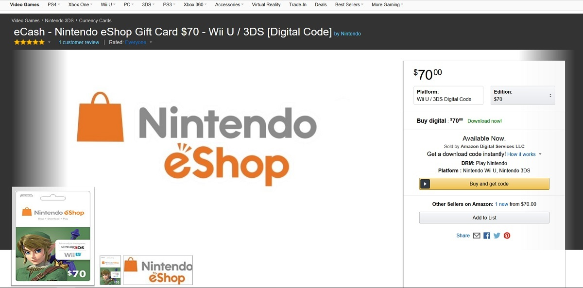 how to buy nintendo eshop cards