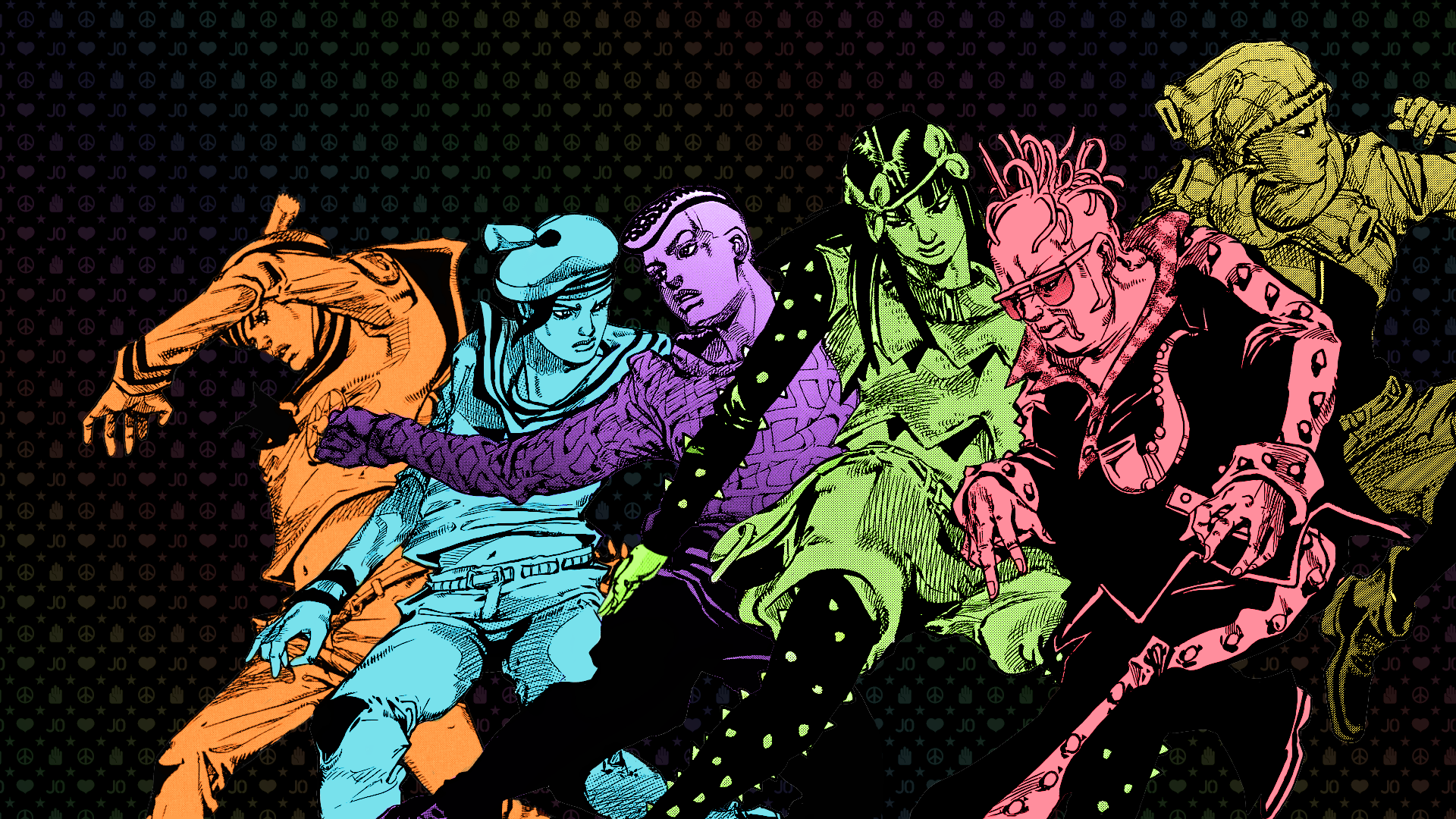 Wallpapers JoJo's Bizarre Adventure - Manga y Anime - Taringa!