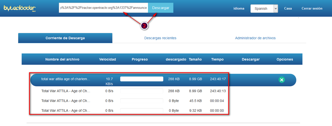 Descarga archivos torrent de forma directa papu