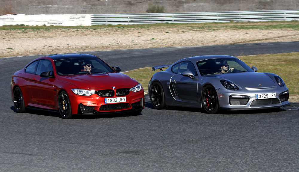 comparativa bmw m4 vs porsche cayman gt4 cual es mejor autos y motos taringa. Black Bedroom Furniture Sets. Home Design Ideas