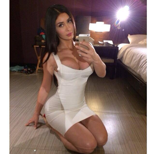 Entra lince y mira a Joselyn Cano.