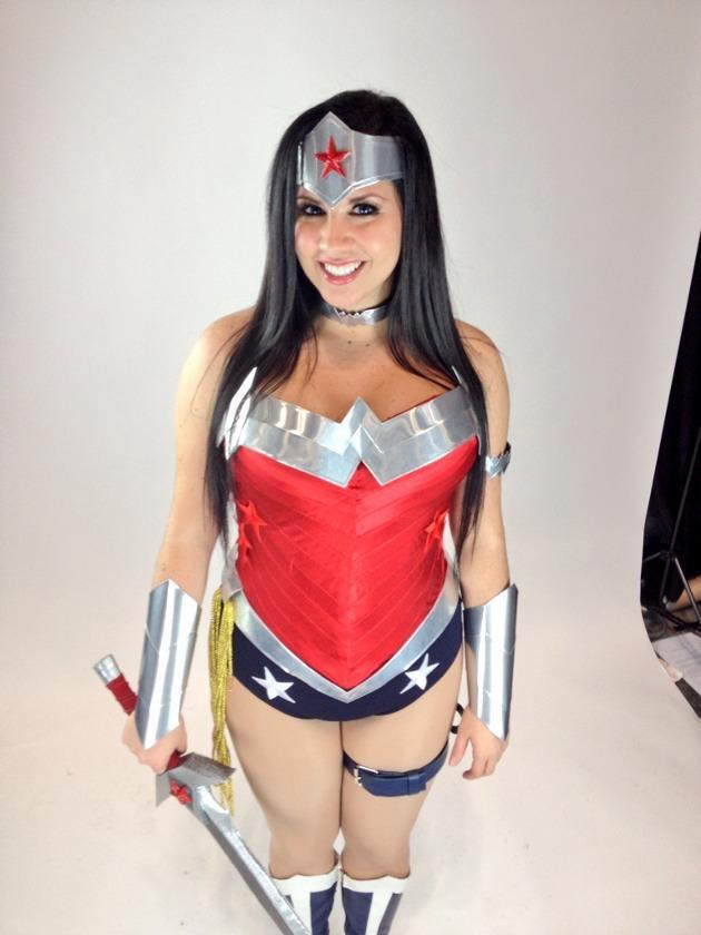 Mulher Maravilha cosplay sexy hot sensual quente