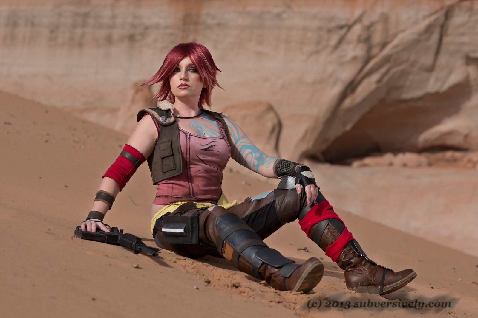 CosplayGirls: WindoftheStars es Lilith de Borderlands 2