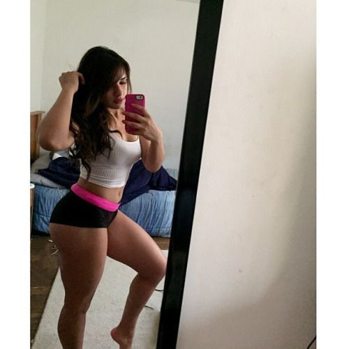 Ashley Ortiz y su tremendo ortiz