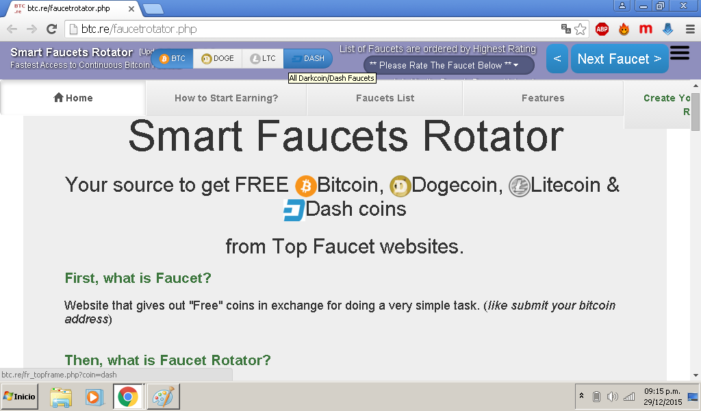 Top bitcoin faucet rotator : Cryptocurrency list top