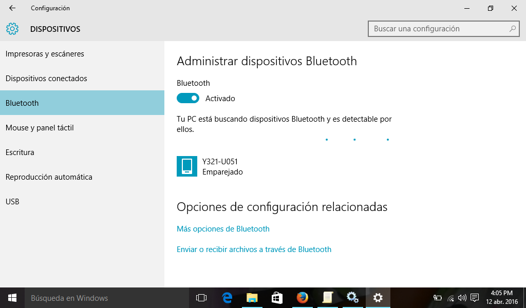Bluetooth en canaima mg101a4 ya es posible sin usb