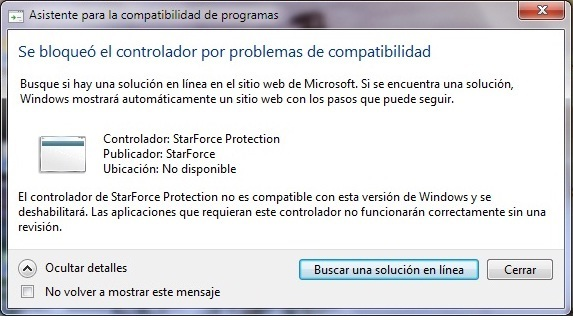 starforce protection pour windows 7