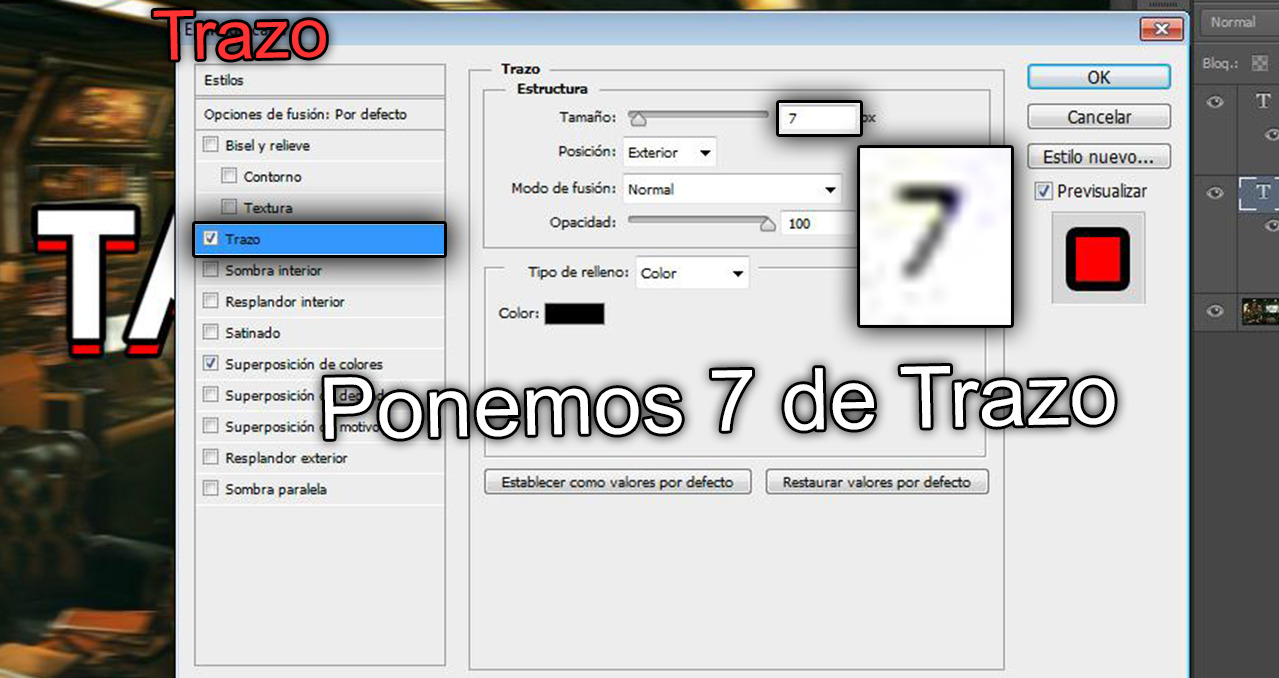 Photoshop CC Como Hacer texto CO