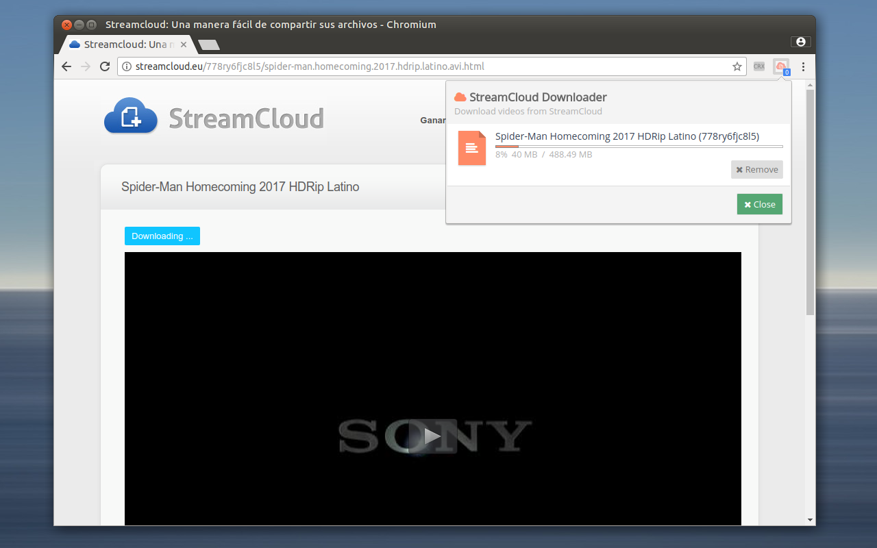 Streamcloud Download Chrome