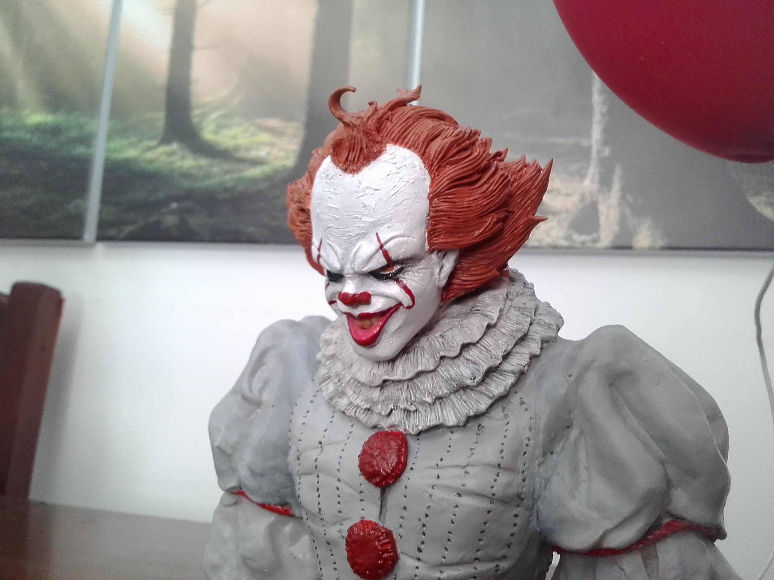 Mi escultura del Payaso de IT