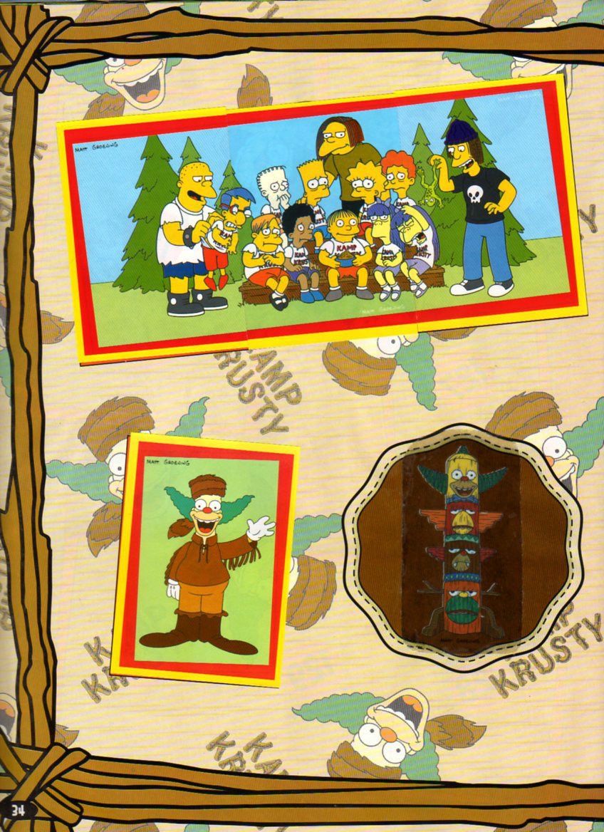 Album de figuritas: The Simpsons IV (2003)