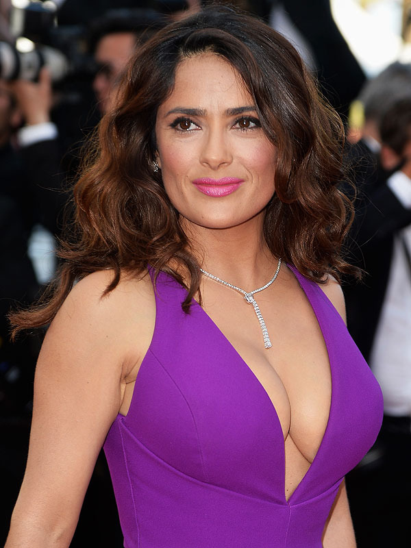 Salma Hayek Al Natural