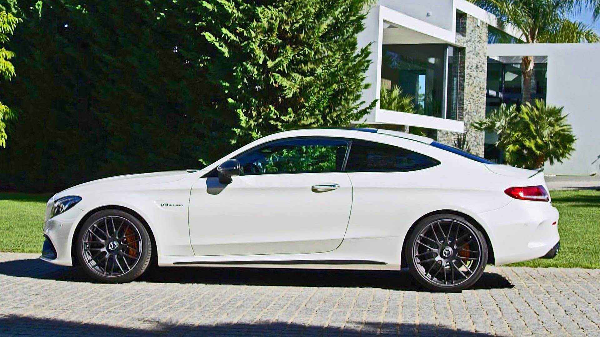 mercedes benz c63 amg coupe 2016 v8 de 510cv autos y. Black Bedroom Furniture Sets. Home Design Ideas