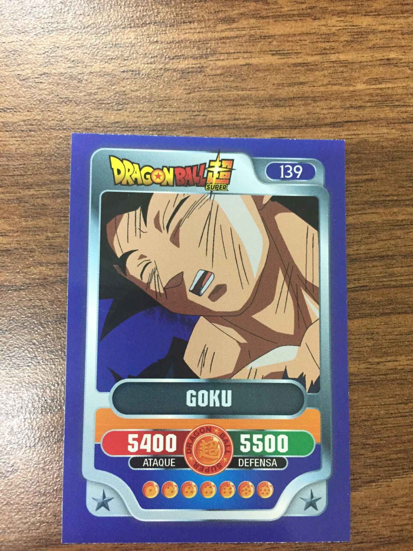 Cartas Dragon Ball Super