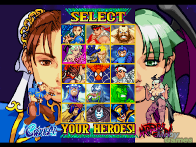 te acordas del marvel vs capcom