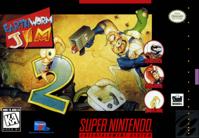 Trucos Earthworm Jim 2 (Super Nintendo)