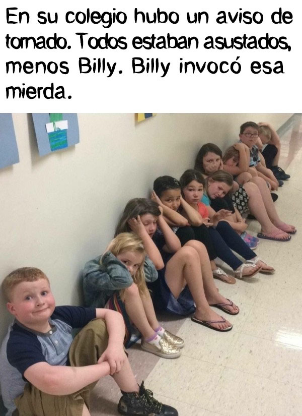 Billy es un maldito ...