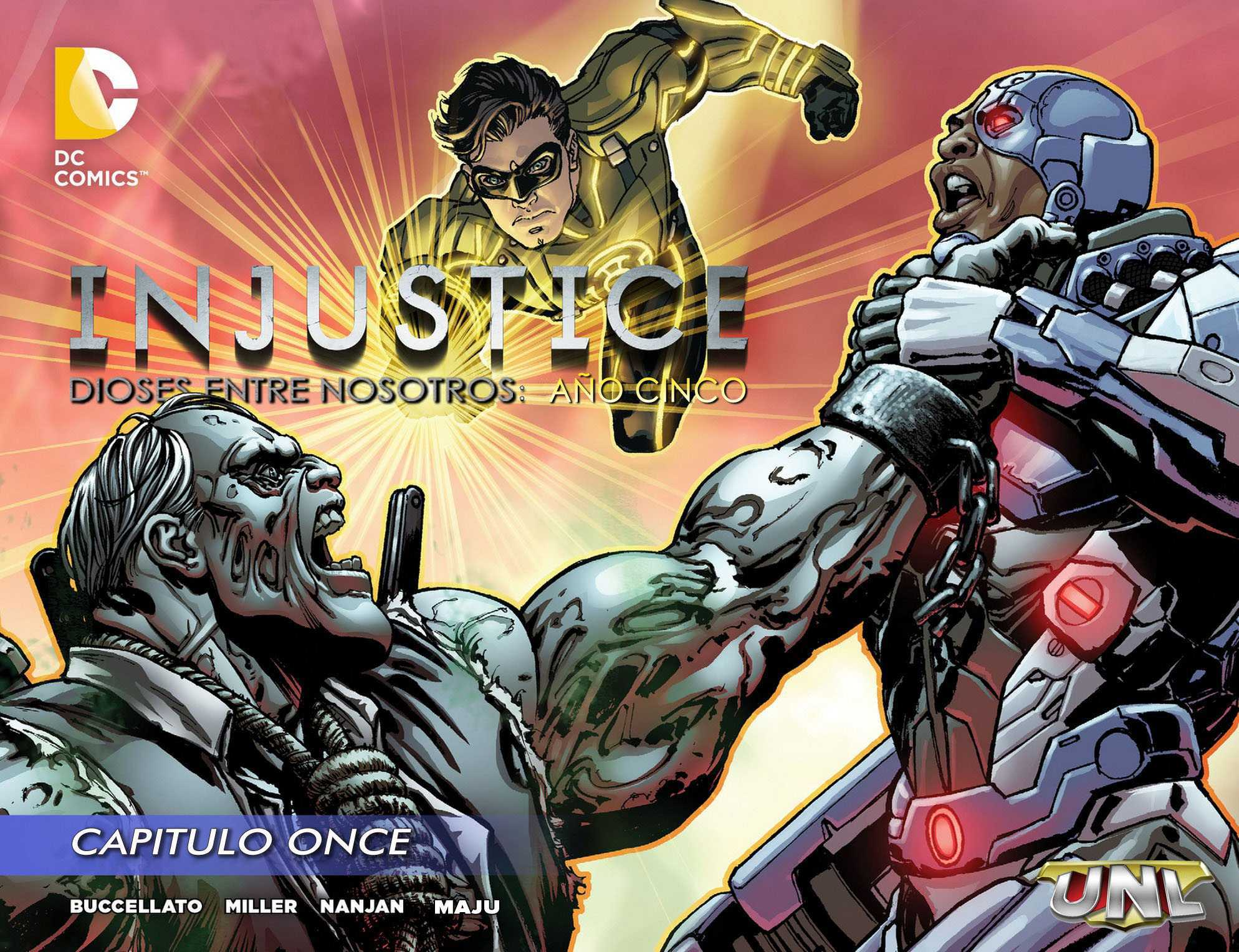Injustice Gods Among Us: año 5 Nº 11