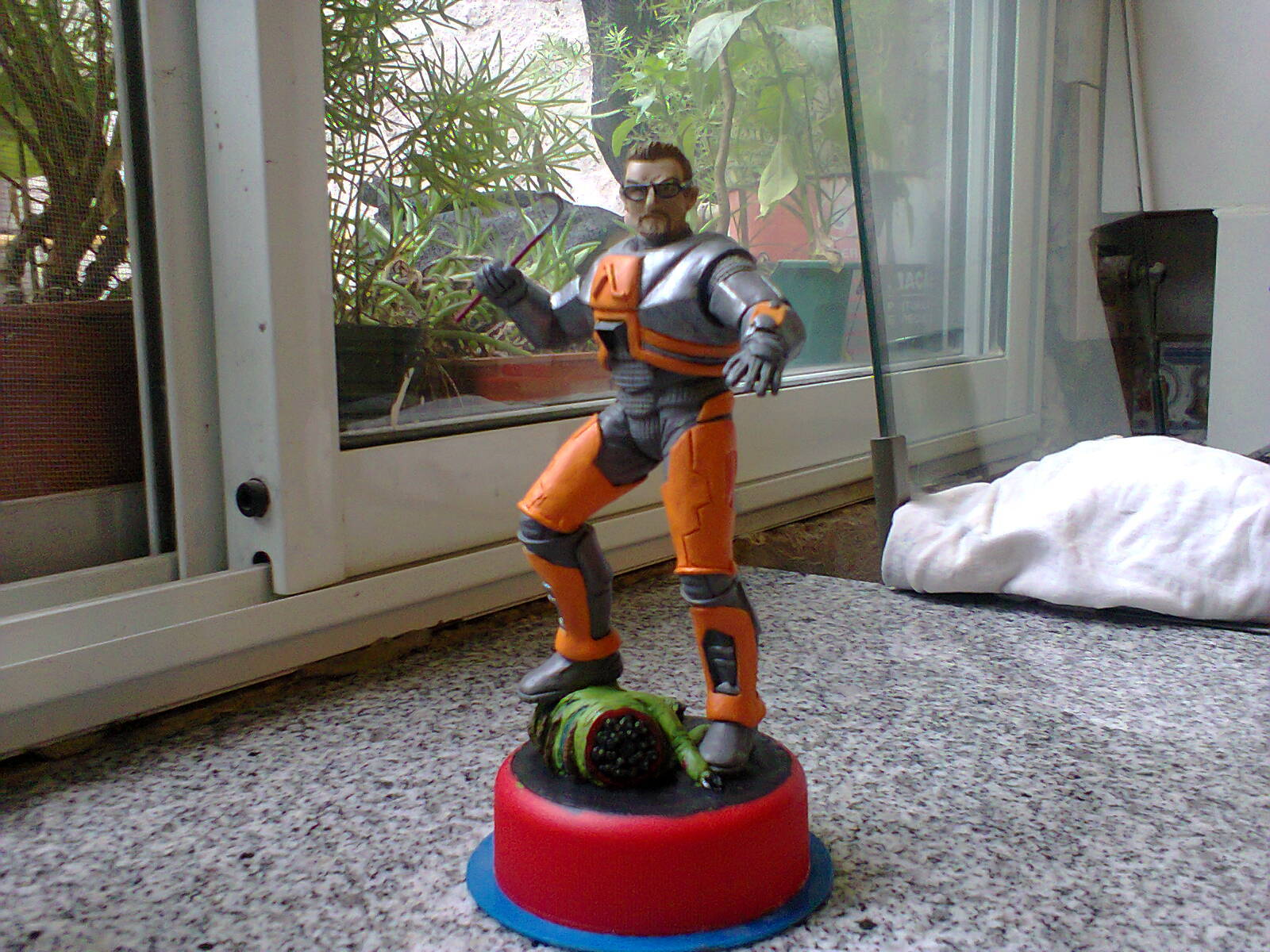 Tuneando un iron man en un Gordon Freeman