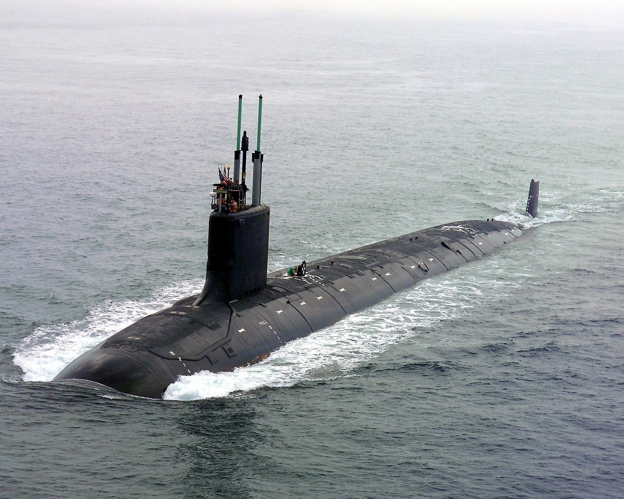 Submarinos Clase Virginia de los Estados Unidos