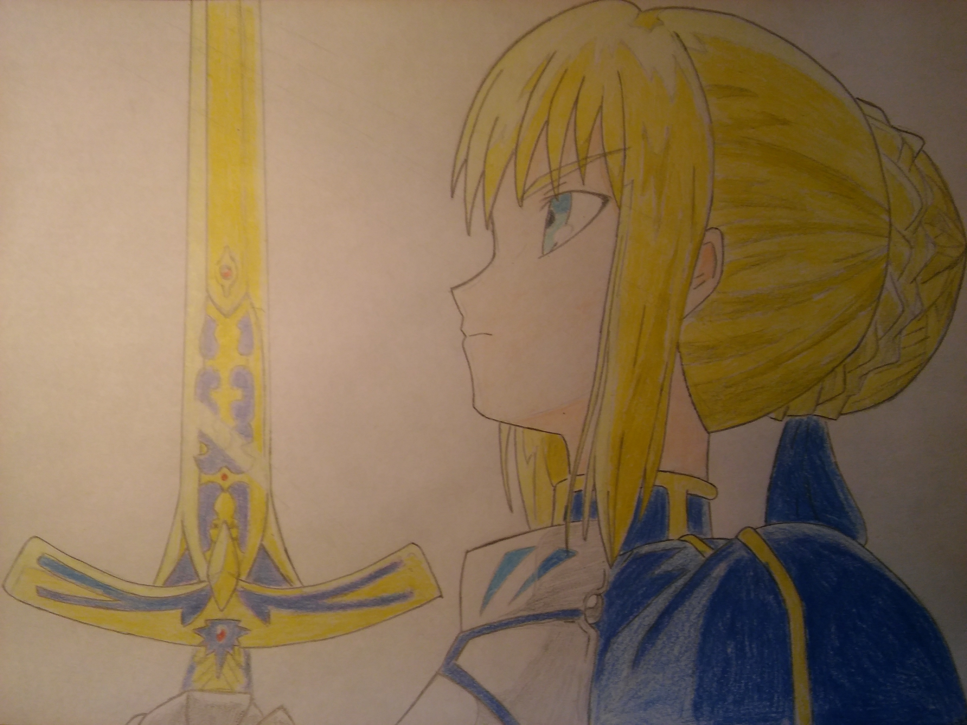 Saber Fate/Stay Nigth